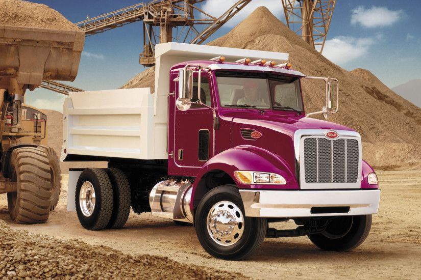 Peterbilt 348 4x2 Dump Truck 2006 wallpapers