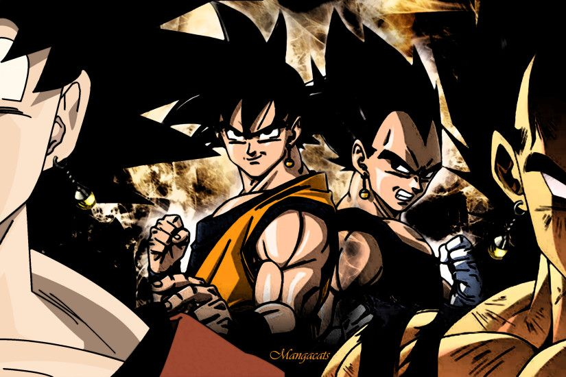 Goku vs Vegeta by HyperBouwerns on DeviantArt