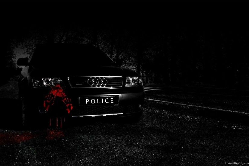 Posh Black Audi Police Super Fast Cars 1920x1200PX ~ Best Police .