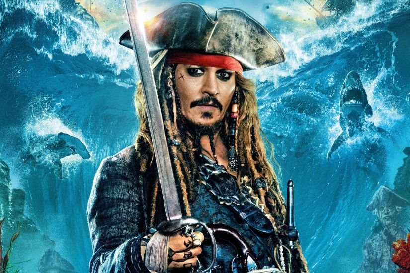Jack Sparrow Pirates of the Caribbean 5 3840x2160 wallpaper