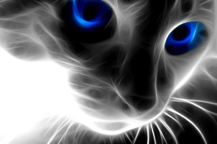Animals Cat Wallpapers Latest1 3d Abstract Wallpaperpicturesphotos