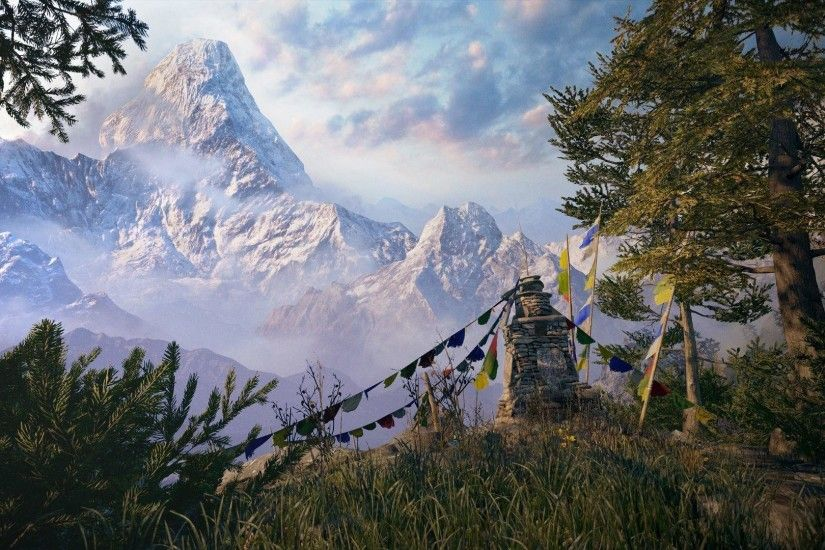 Far Cry Games Far cry 4 mountain 4 HD Wallpapers, Desktop .