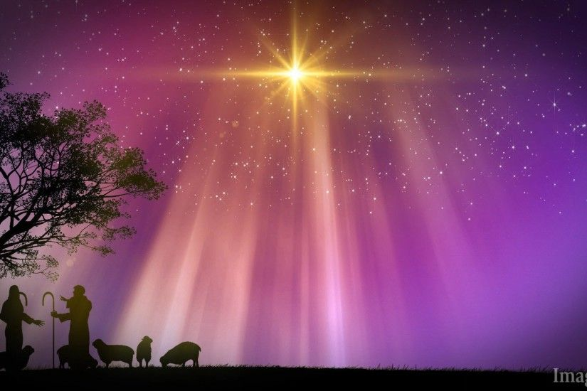 christian christmas powerpoint backgrounds, shepherds, nativity, star  appears