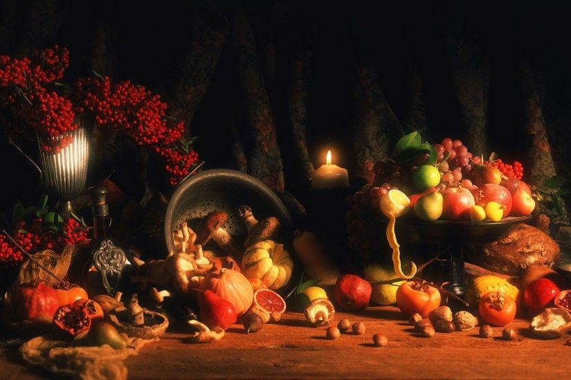 2880x1800 Happy Thanksgiving HD Wallpaper