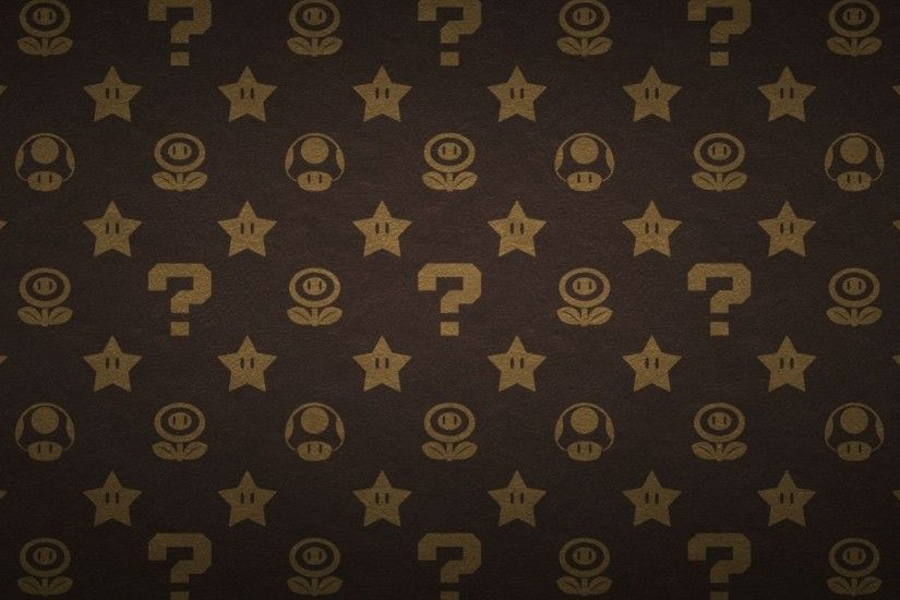 Mario Pattern Wallpaper HD by ipodpunker on DeviantArt
