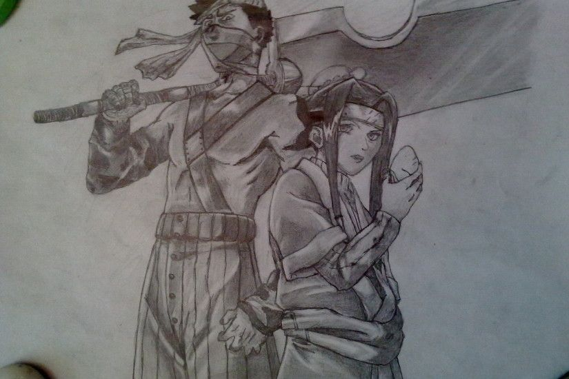 ... Zabuza and Haku - Pencil drawing by Trixogeddon3