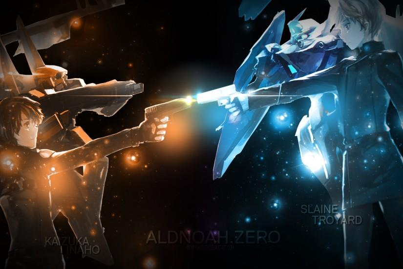 inaho_and_slaine_wallpaper___aldnoah_zero_by_richardkazuta-d8mtgii.png  (1920×1080) | Aldnoah.Zero | Pinterest | Wallpapers and By