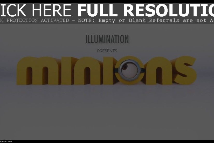 Minion Despicable Me Background Wallpaper Full HD