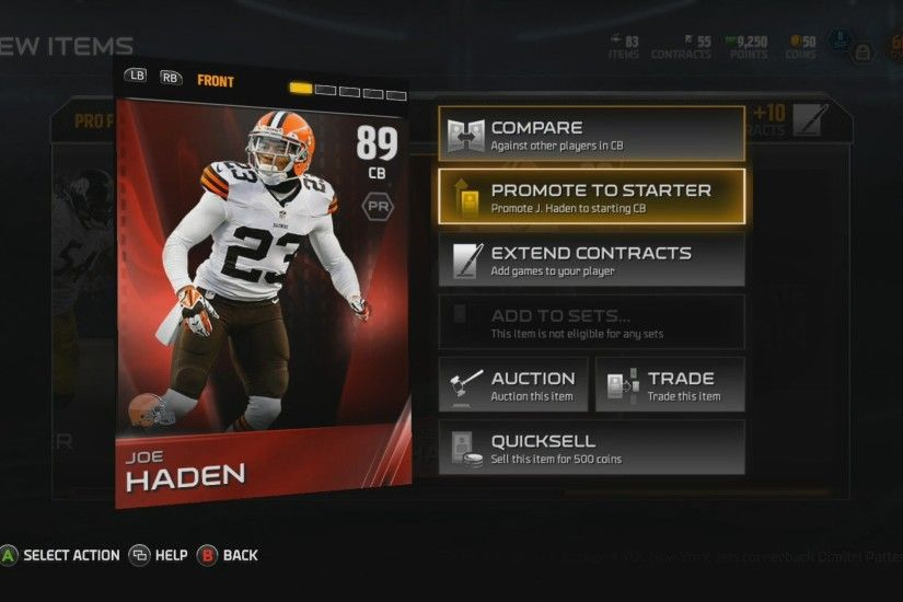 Madden 15 MUT | Ultimate Team Pack Opening! | Joe Haden Elite! - YouTube