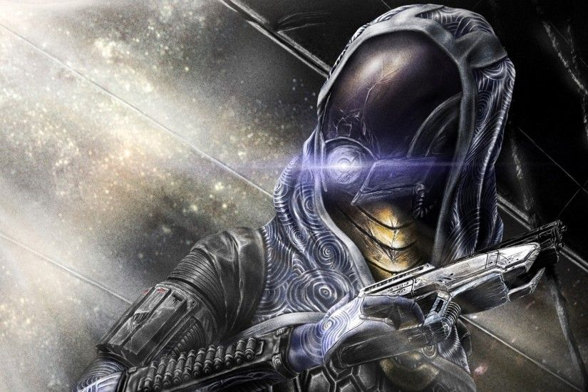 Artwork Games Mass Effect 3 Tali Zora