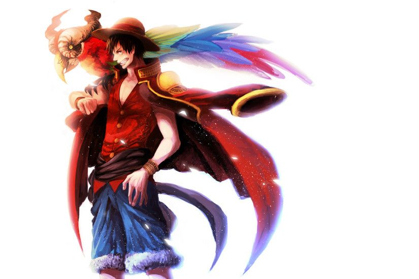 Pirate King Monkey D Luffy One Piece Wallpaper HD 1920×1080