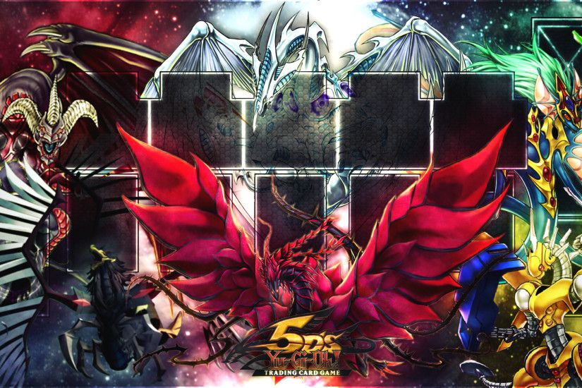 Yugioh - 5Ds Signature Dragons Playmat by SrAddiction on DeviantArt