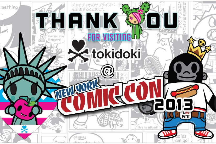 NYCC 2013 – thanks