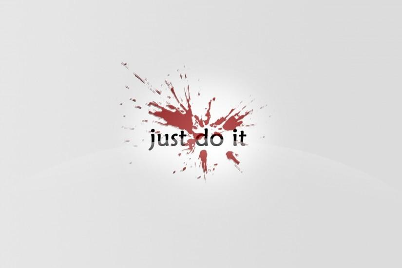 Preview wallpaper nike, just do it, blob 3840x2160