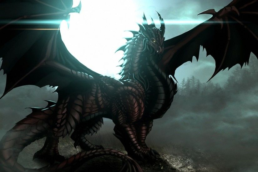 Fantasy black dragon wallpaper hd 2.jpg