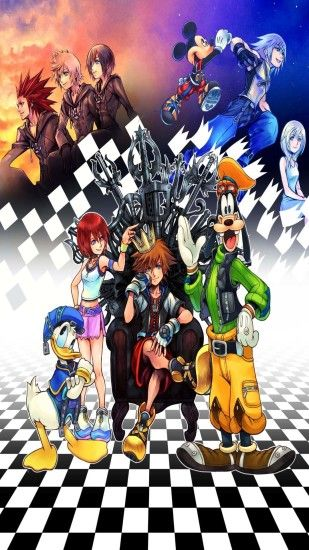 Kingdom Hearts Phone Wallpaper - WallpaperSafari