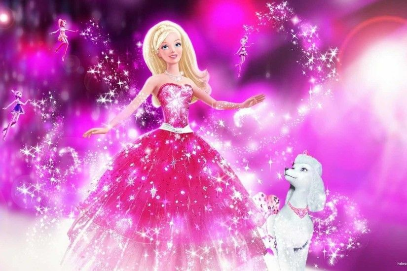 Barbie In A Fashion Fairy Tail HD Desktop Background