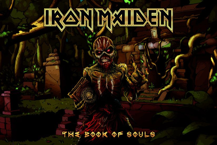 ... Iron Maiden - The Book of Souls L by croatian-crusader