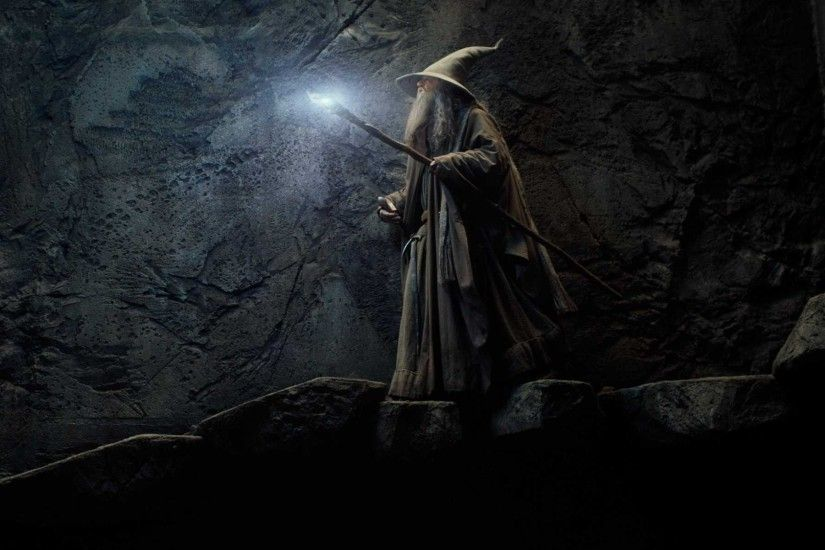 movies, Gandalf, The Hobbit: The Desolation Of Smaug, Wizard, Glowing Wallpapers  HD / Desktop and Mobile Backgrounds
