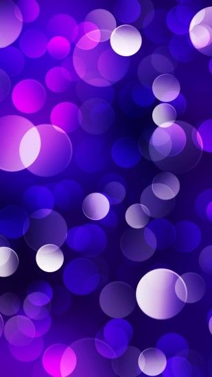 1080x1920 Elegant Glowing Purple Blue Bubble iPhone 6+ HD Wallpaper -  http://