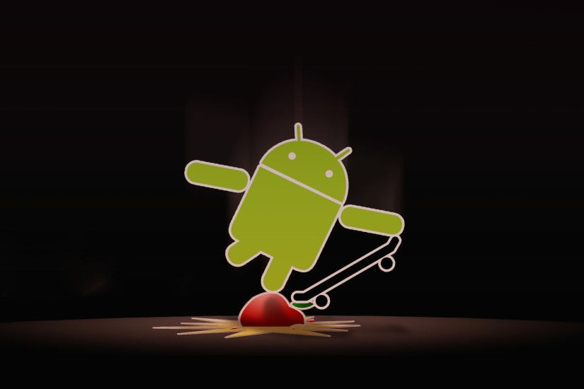 Apple with Android Skate Wallpaper 114 Wallpaper