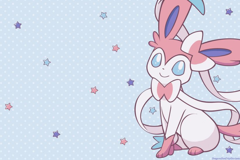 ... Sylveon HD Desktop ...