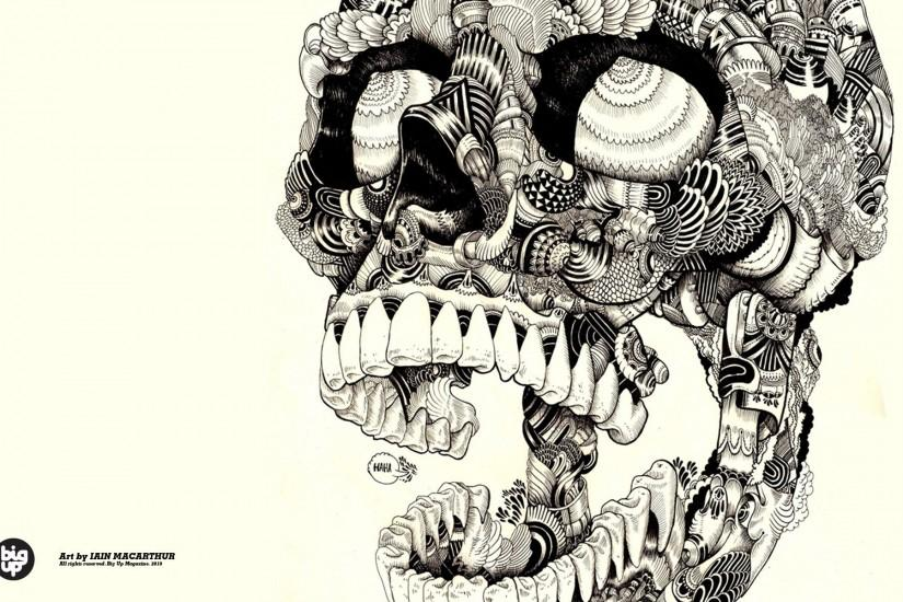 skulls artwork sugar skulls wallpaper background