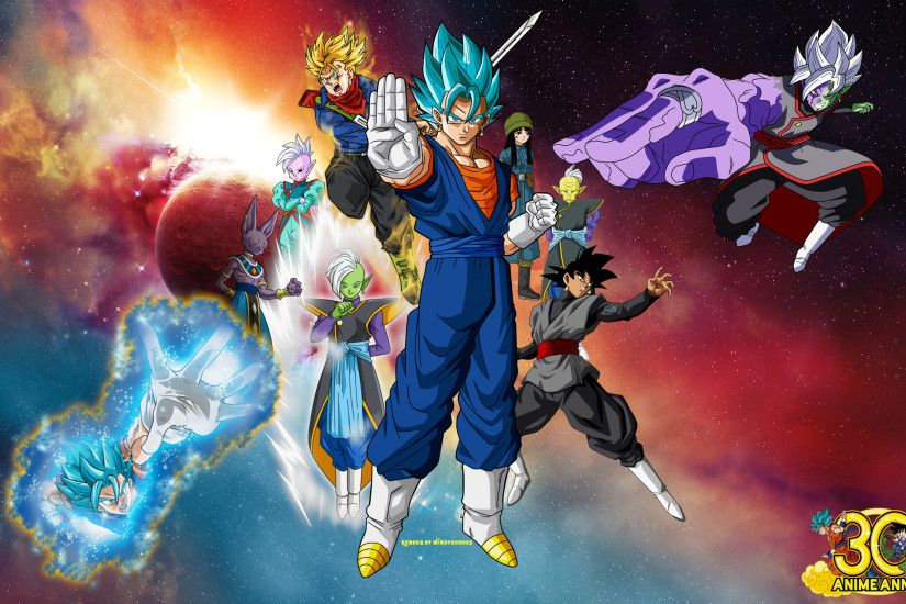 ... Vegito Super Saiyan Blue Fusion Wallpaper by WindyEchoes