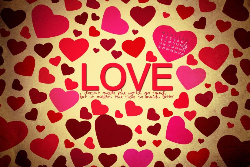 HD love heart wallpaper Screen.