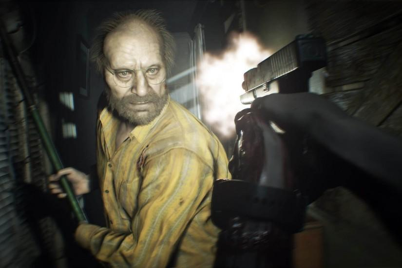 Scary Man - Resident Evil 7: Biohazard 1920x1080 wallpaper