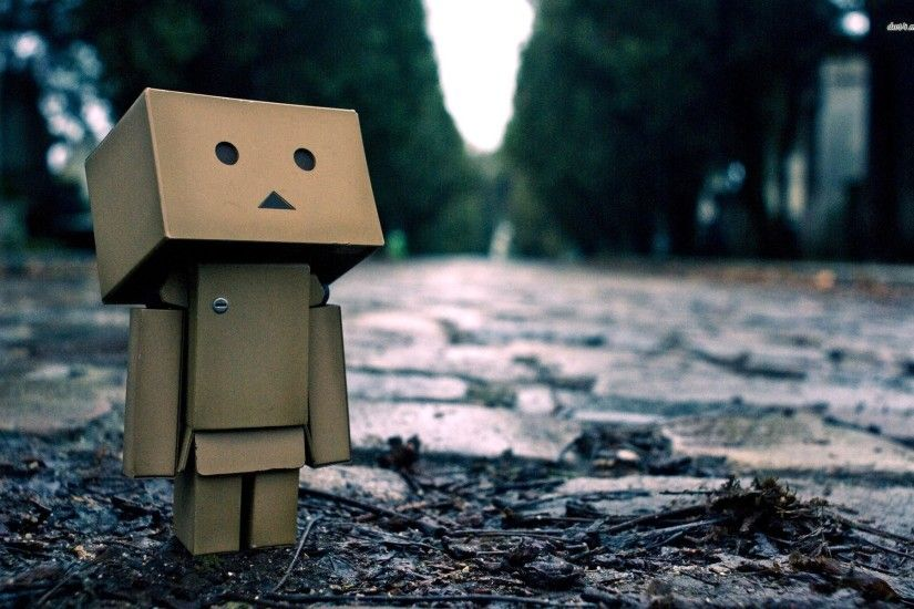 Danbo Rain Wallpaper High Quality