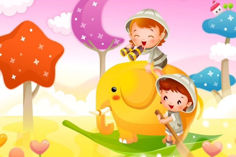 Full HD Cute Cartoon Wallpapers 258.39 Kb, Wallpapers and Pictures for  desktop and mobile