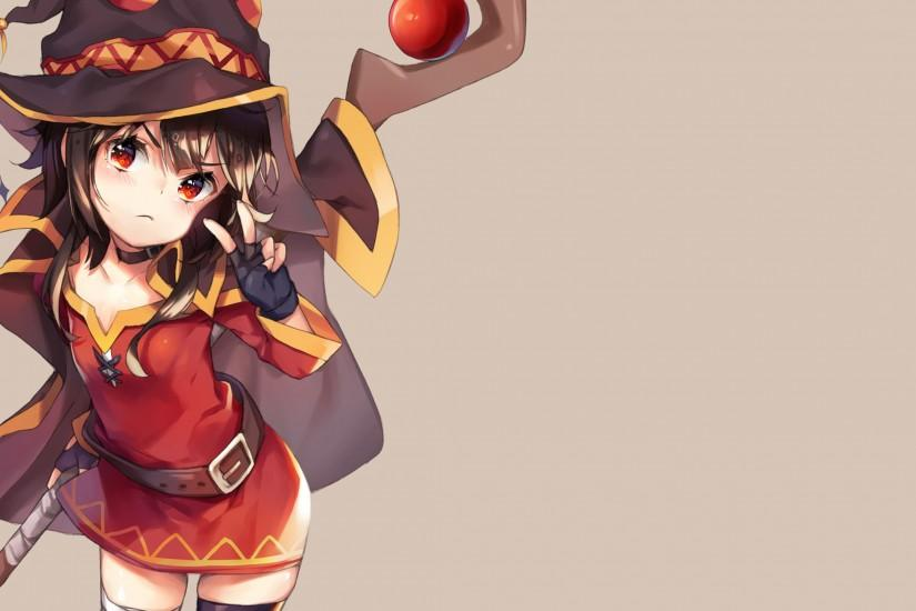 Anime - KonoSuba – God's Blessing On This Wonderful World!! Megumin  (KonoSuba)
