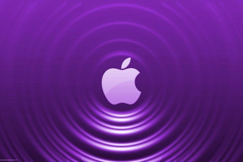 Home Computer Purple Apple Wallpaper Widescree #1520 Wallpaper .