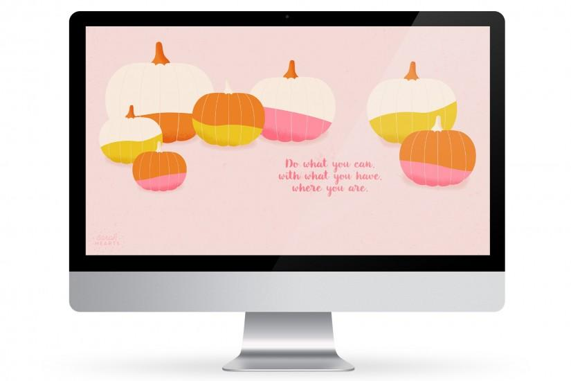 Fall is in full swing so adorn your computer, phone or tablet with this cute