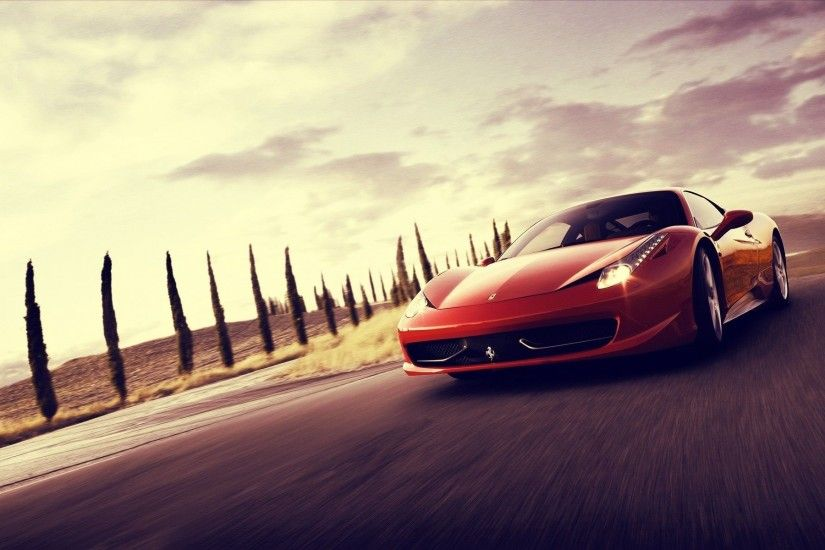 Ferrari-458-Spider-Sports-Cars-HD-Wallpaper