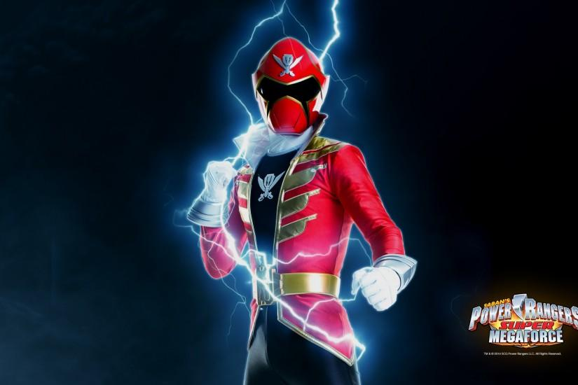 Power Rangers Wallpaper: Super Megaforce Red |Fun Desktop Wallpapers .