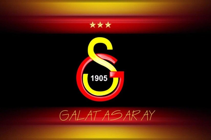 Galatasaray FC Football Logo HD Wallpaper