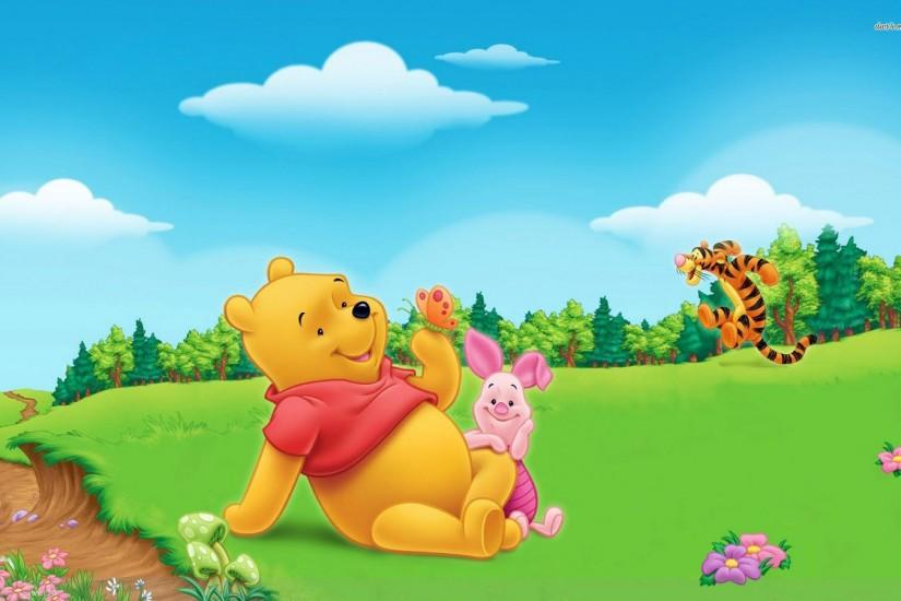 Disney Cartoon Winnie The Pooh Wallpaper HD 5 - SiWallpaperHD 3218 .