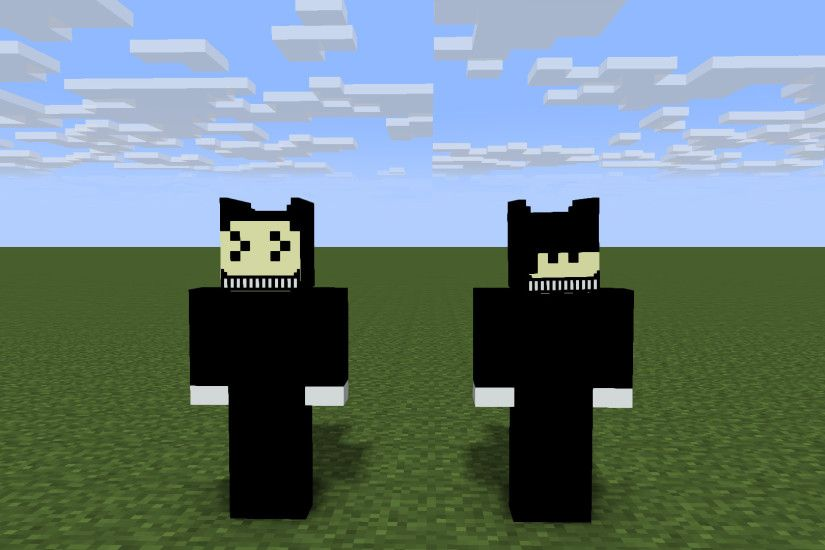 1st bendy and ink machine rigs on mine imator!!! There are 2 rigs one is  inked one is normal