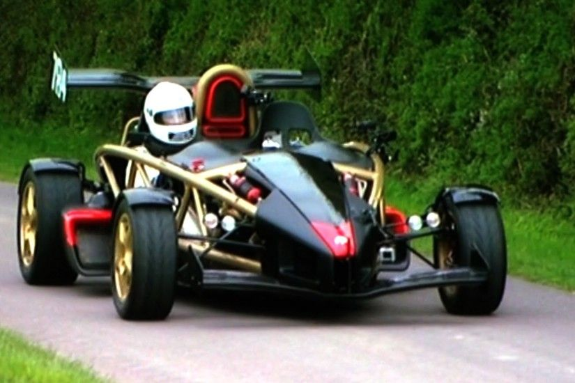 Ariel Atom V8: The Fastest Accelerating Road Car On The Planet - Fifth Gear  - YouTube