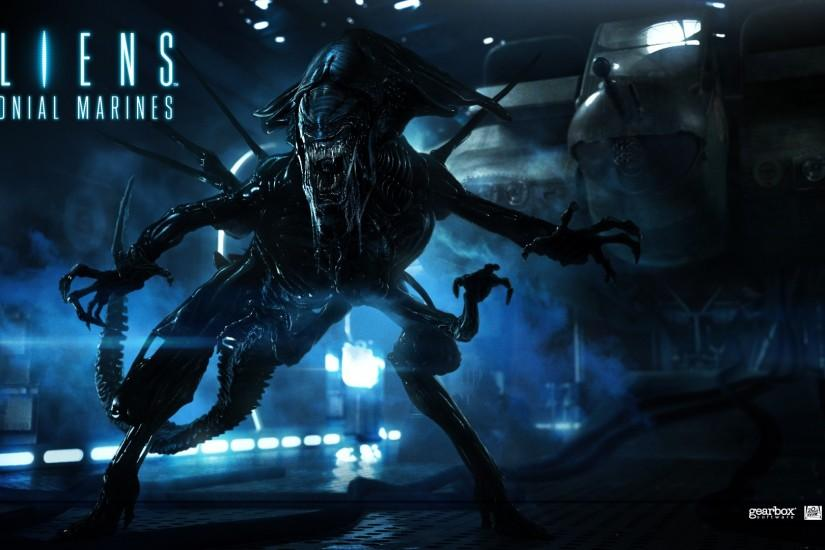 Aliens: Colonial Marines Alien Queen Wallpapers | GamingShogun