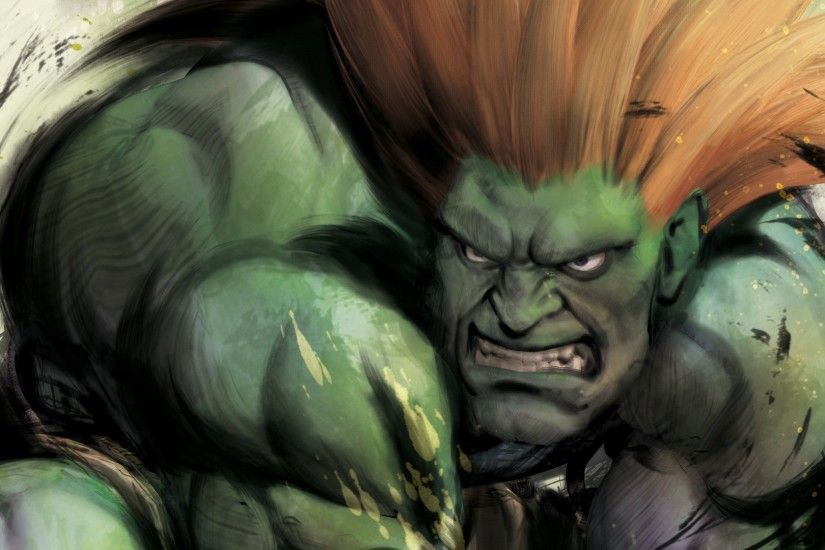 Street Fighter IV - Blanka Wallpapers