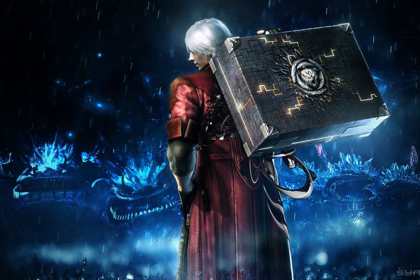 Wallpaper Dante Devil May Cry Devil May Cry 4 Man 3D Graphics Games  1920x1080 Men