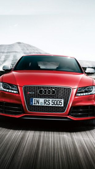 Red Audi RS5 Wallpaper