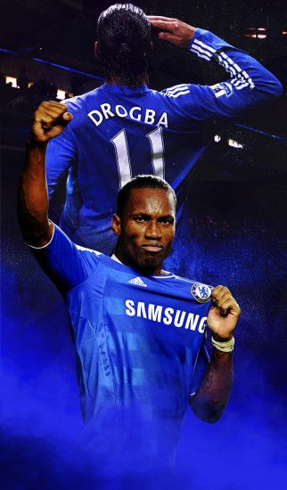 Didier Drogba mobile wallpaper by Adik1910 Didier Drogba mobile wallpaper  by Adik1910