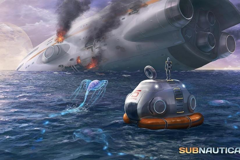 Image - Concept-art-crashed-ship-by-cory-strader-the-art-of-subnautica.jpg  | Subnautica Wiki | Fandom powered by Wikia