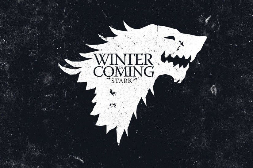 Download Wallpaper 3840x2160 House of stark, Game of thrones, Logo .