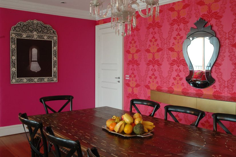 Free Cool Wallpaper Stickers Ideas For Creative Interiors Good Texturedbr  Glamour Dining Interior Design. decorating ...