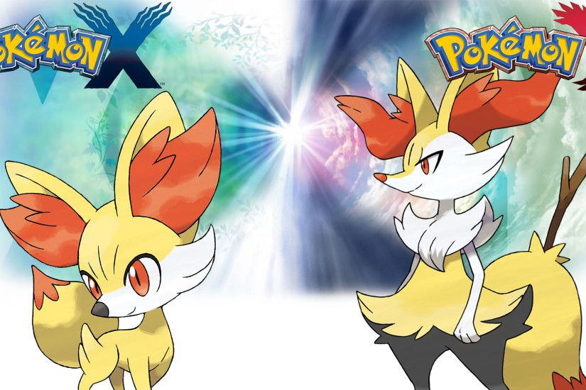 Thelimomon 7 0 Pokemon X Y - Wallpaper - Fennekin and Braixen by Thelimomon
